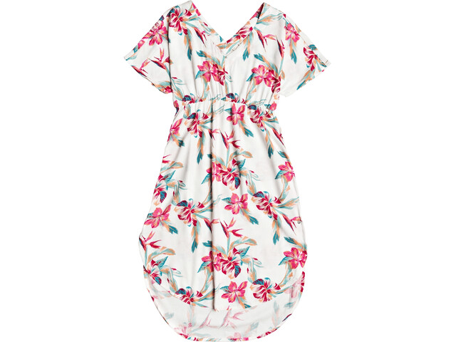 Roxy Flamingo Shades Dress Women snow white tropic call